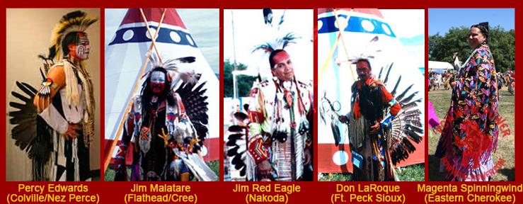 Native American Powwow Dancers