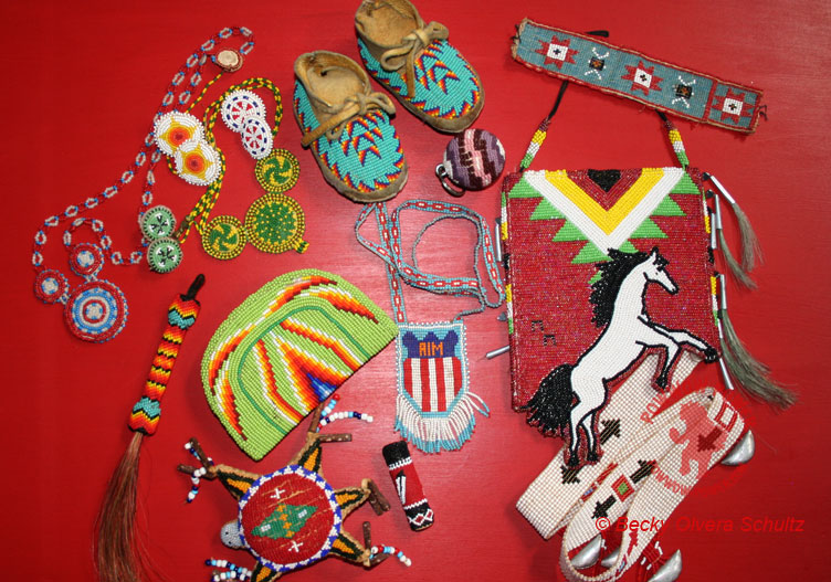 Native American Beadwork Styles