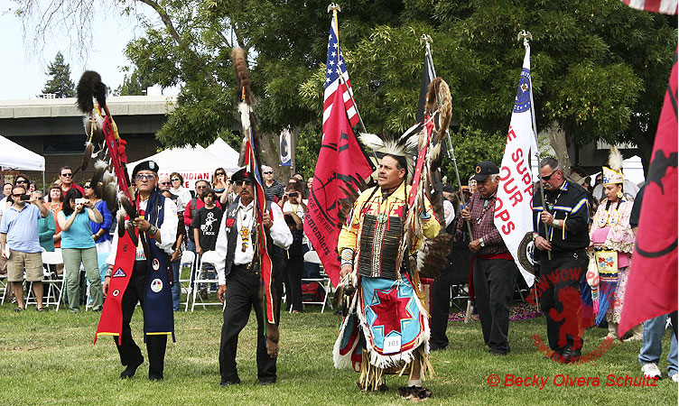 Grand Entry West Valley College Powwow