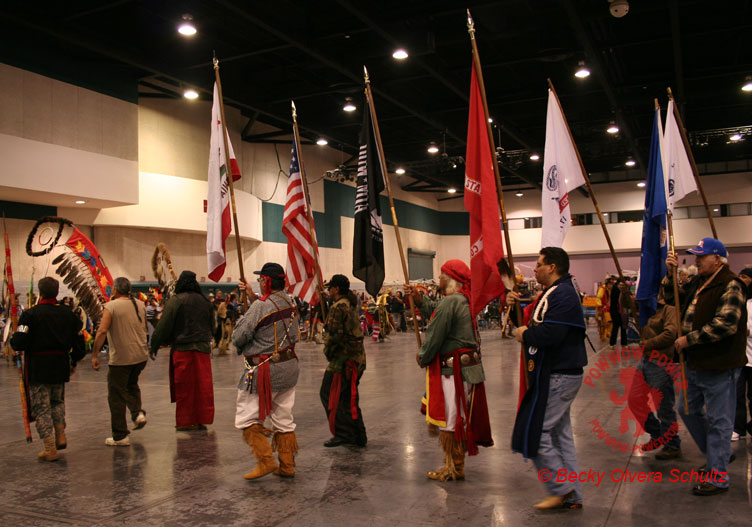 Grand Entry, Fresno New Year's Eve Powwow