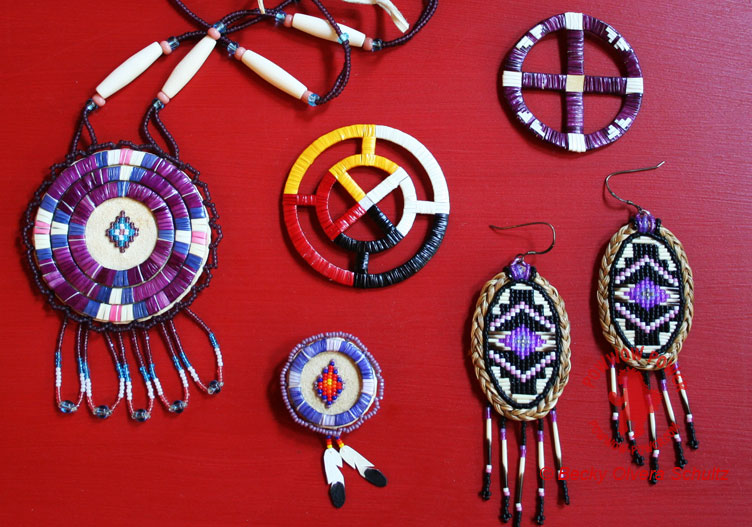 Native American Quillwork