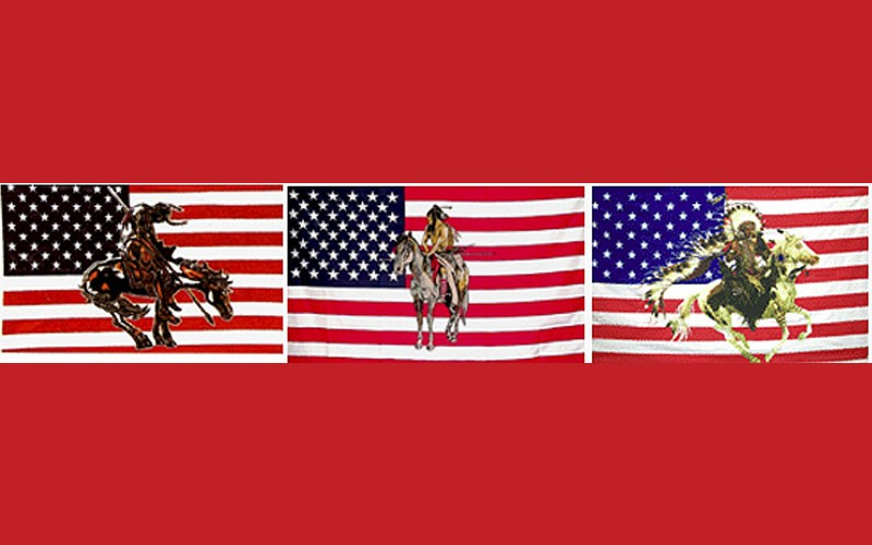 Native USA Flags