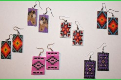 Shop Native Made For Christmas-Beaded Earrings