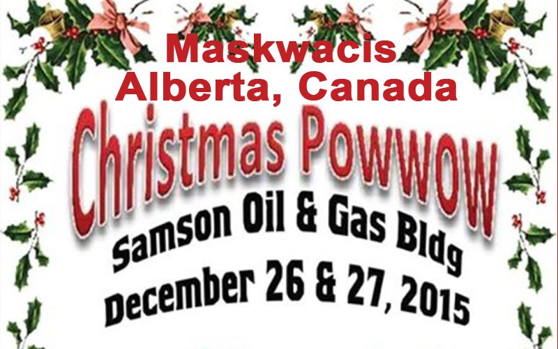 Christmas Powwow-Canada-Dec. 26 & 27
