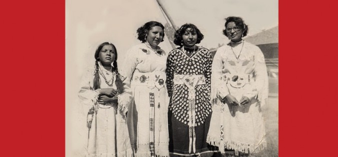 Vintage Photo of Crow Nation Women In Montana