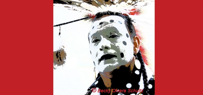 Powwow Dancer Portrait Series-Mickey Mason (Caddo)