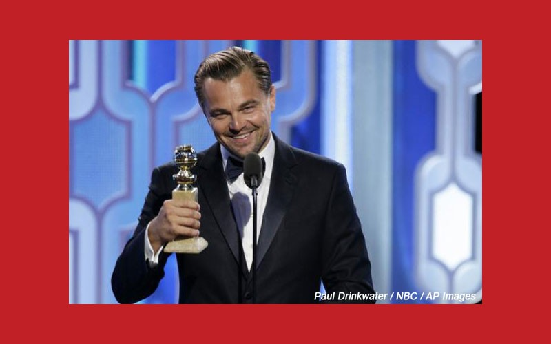 DiCaprio Honors First Nations During Acceptance Speech At Golden Globes