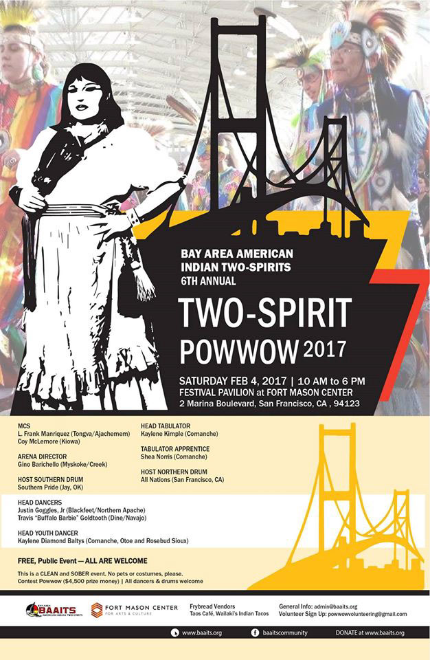 BAITS American Indian Two Spirits Powwow