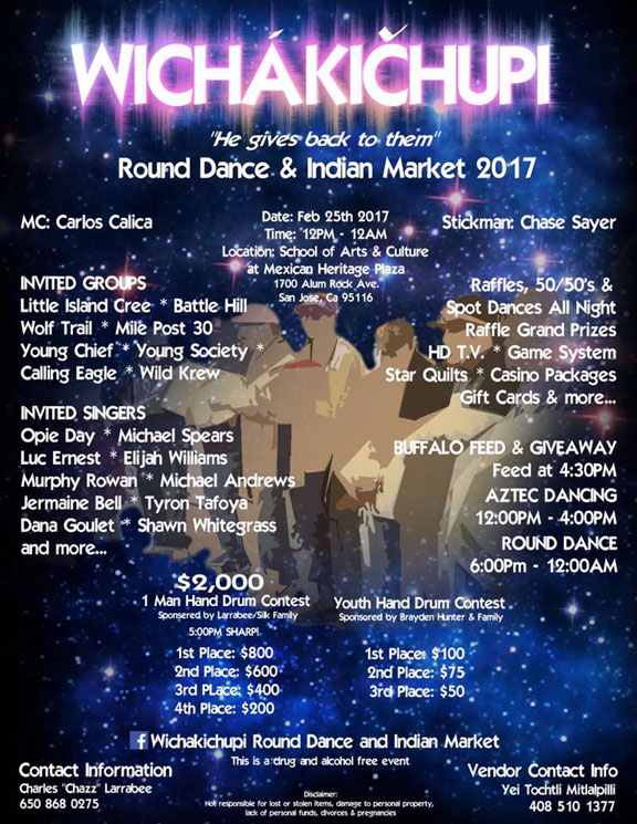 Round Dance & Indian Market 2017