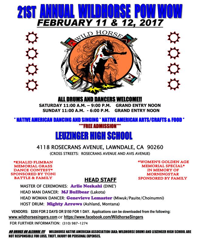 21st Annual Wild Horse Powwow 2017