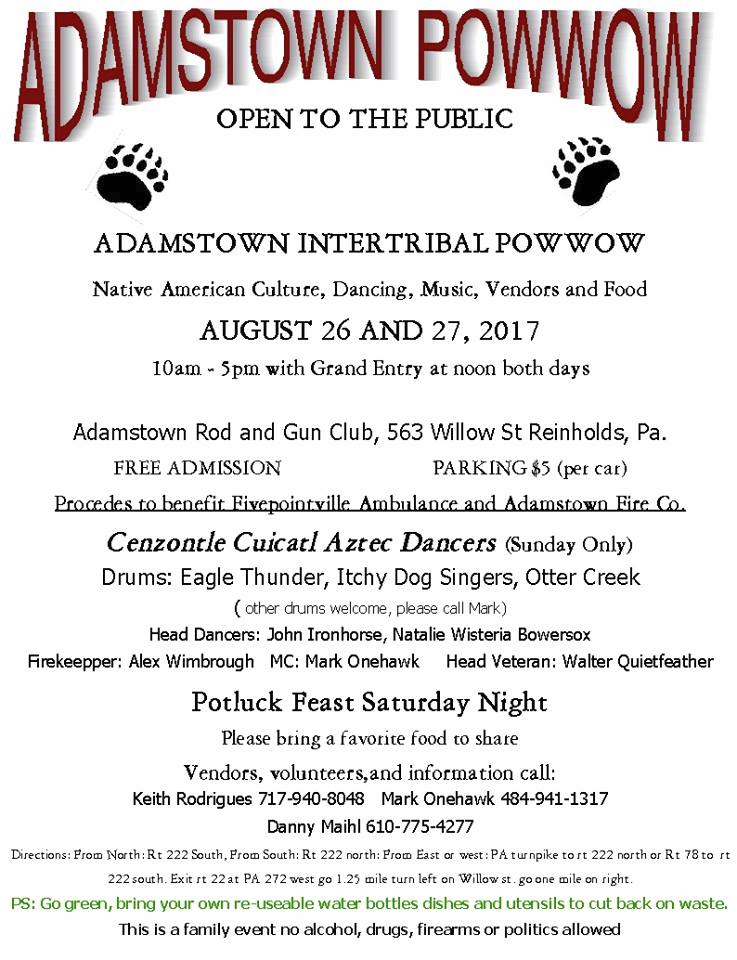 Adamstown Intertribal Powwow