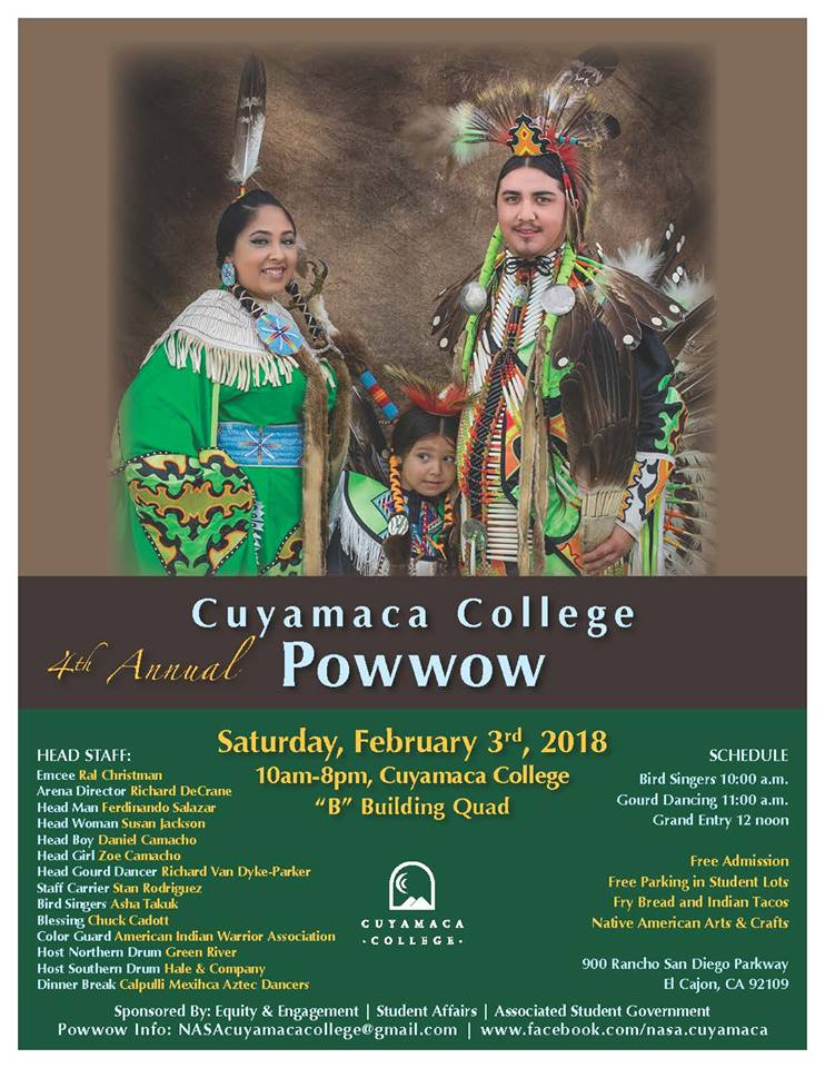 4th AnnualCuyamaca College Powwow