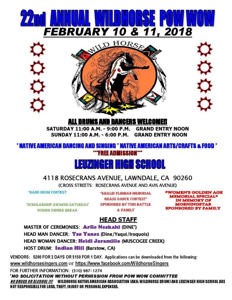 22nd Annual Wildhorse Powwow