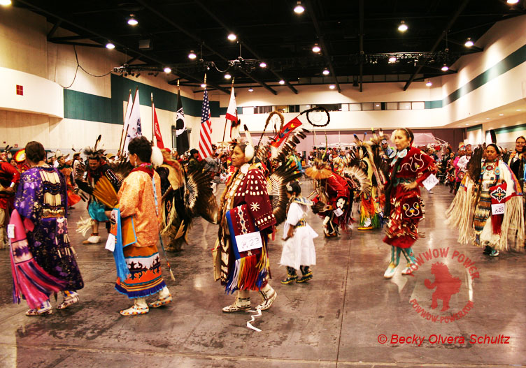 Female Powwow Dancers, Traditional & Jingle