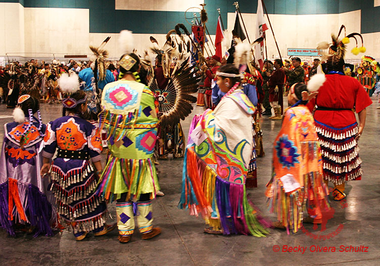 Powwow Jingle and Fancy Shawl Dancers