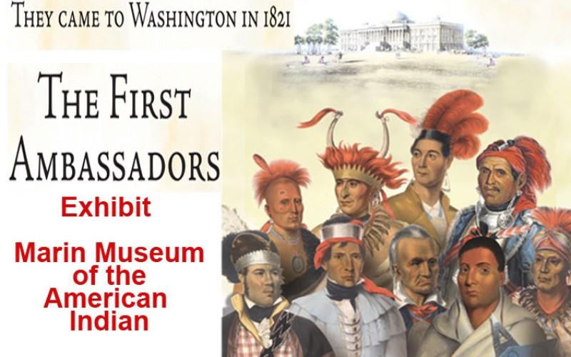 First Ambassadors: Rare Lithos of Tribal Leaders Visits To Washington