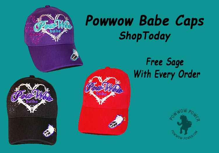 Powwow Babe Caps