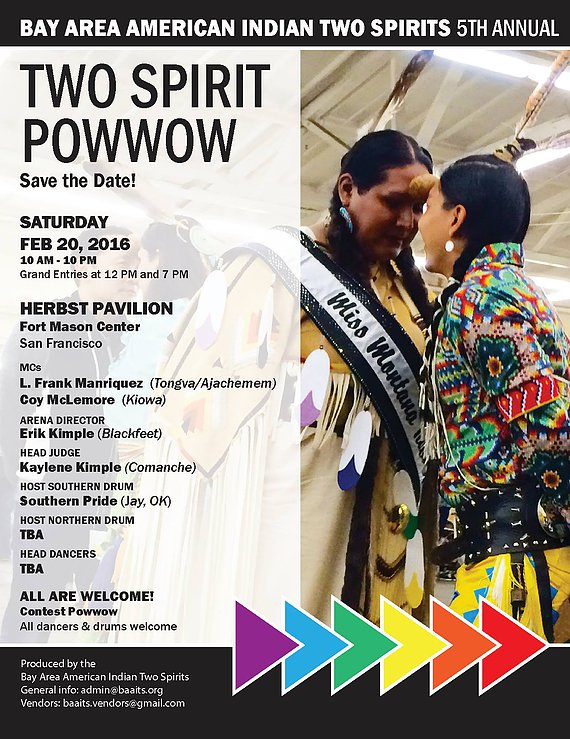Bay Area American Indian Two Spirits 5th Annual Powwow