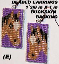 Beaded Earrings, Native Art Gift Shop