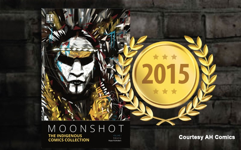 Native American Comics, Moonshot, Makes Best Books List for 2015 By School Library Journal