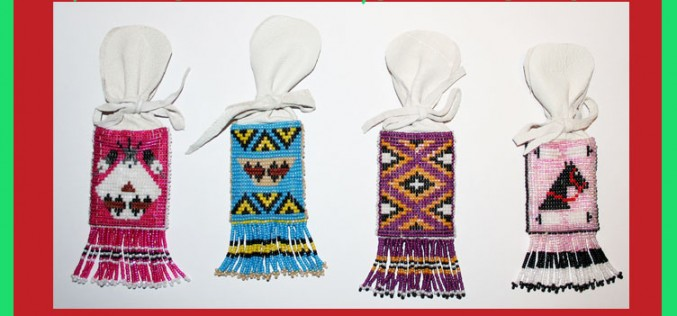 Shop Native: More Holiday Gift Ideas-Beaded Pouches