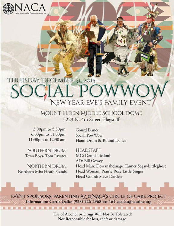 Social Powwow New Year's Eve Family Event