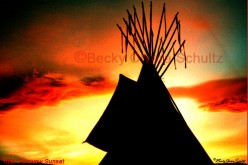 Powwow Sunset Photo