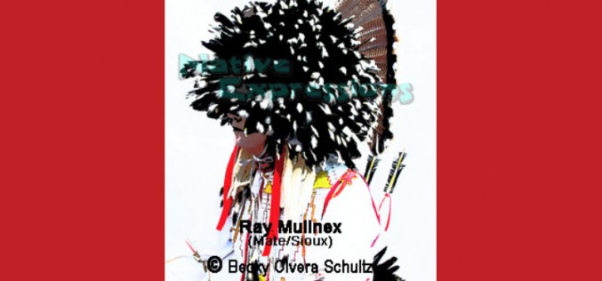 Powwow Dancer Portrait Series-Ray Mullnex (Mate/Sioux)