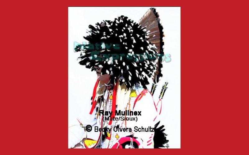 Powwow Dancer Portrait Series-Ray Mullnex (Mate/Sioux)