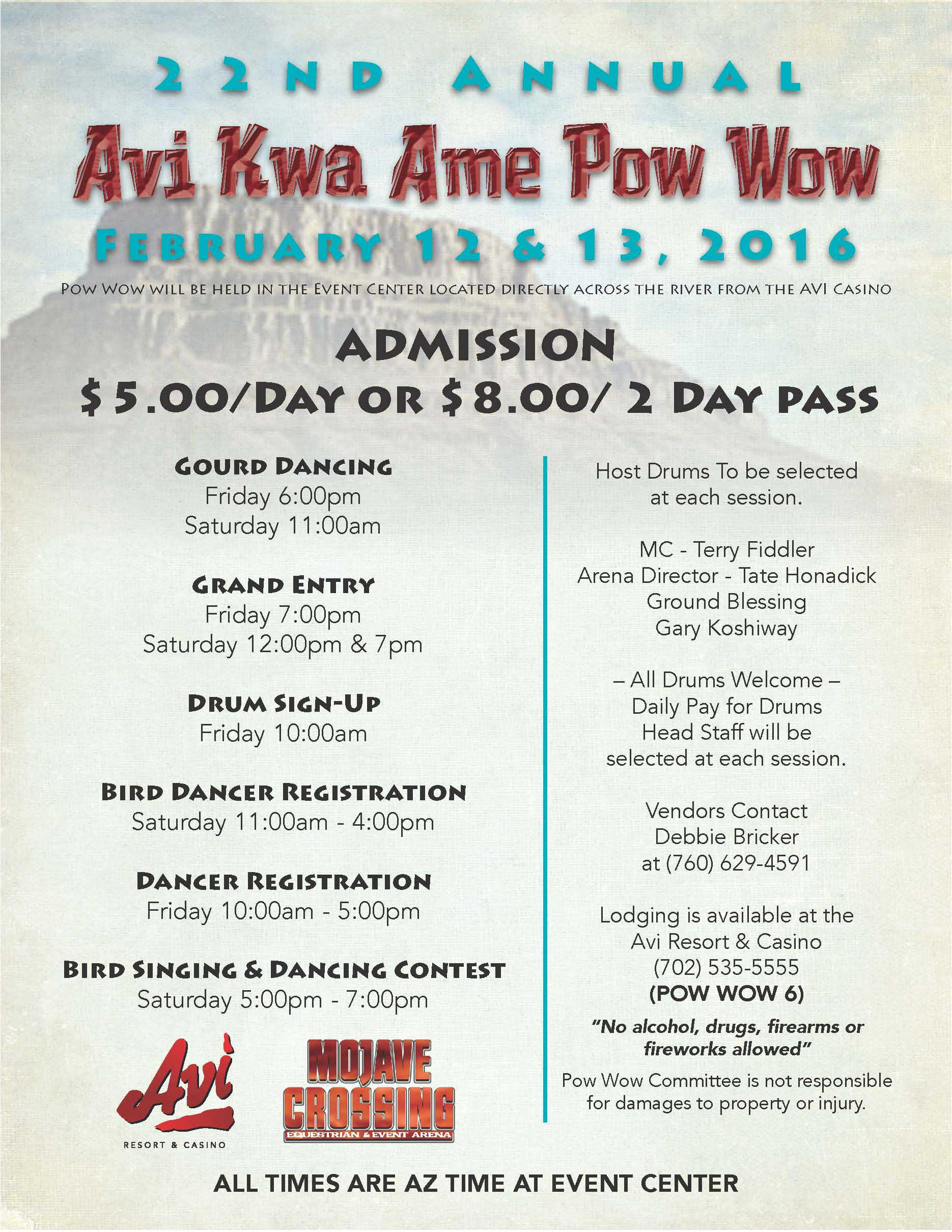 22nd Annual Avi Kwa Ame Powwow Powwows Calendar Native American