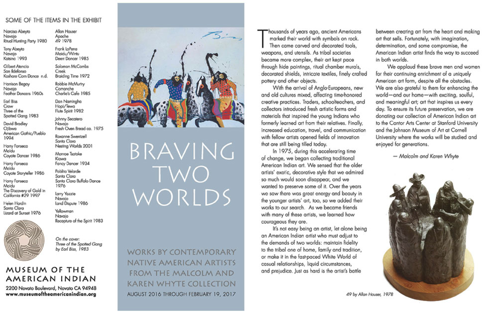 Braving Two Worlds-Museum of the American Indian Exhibit