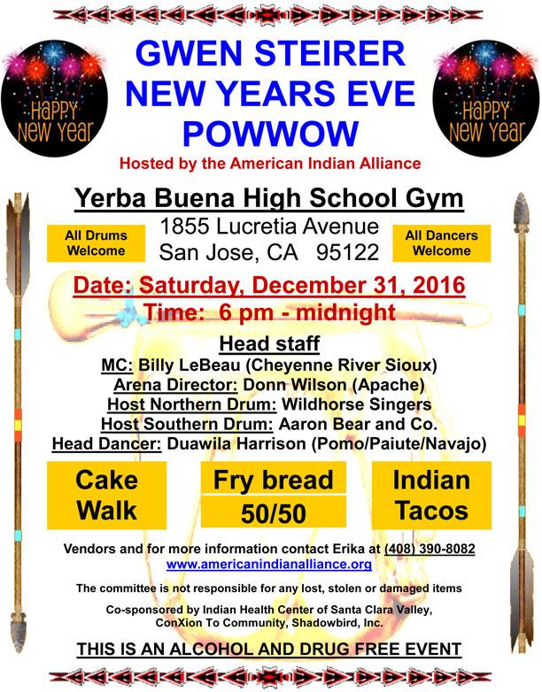 New Year's Eve Powwow-San Jose, CA