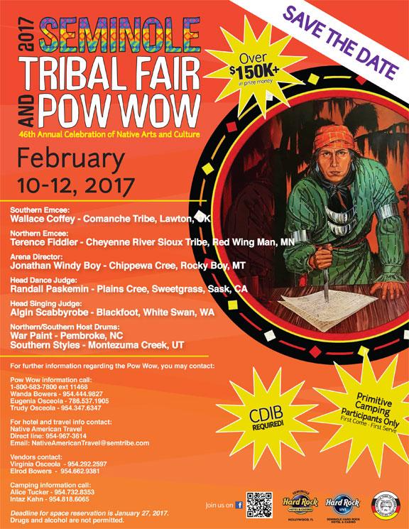 2017 Seminole Tribal Fair & Powwow 2017
