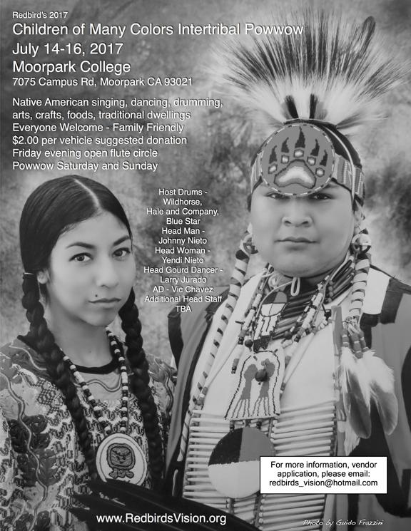 Redbird's Children of Many Colors Powwow 2017