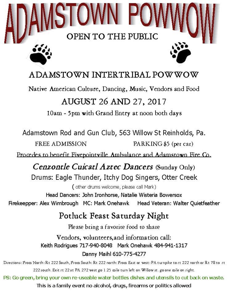 Adamstown Intertribal Powwow