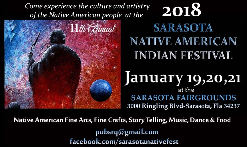2018 Sarasota Native American Indian Festival