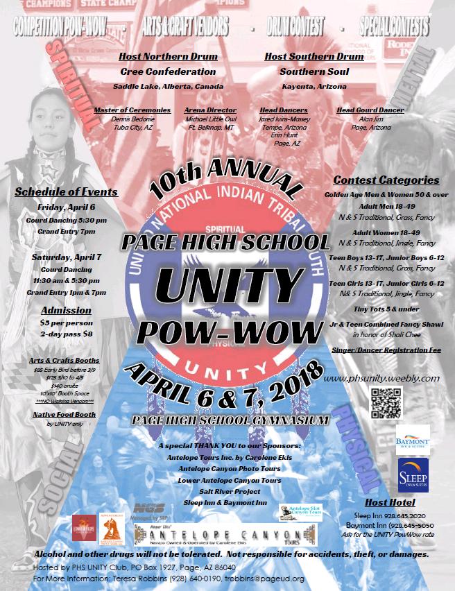 10th Annual Page High School Unity Powwow