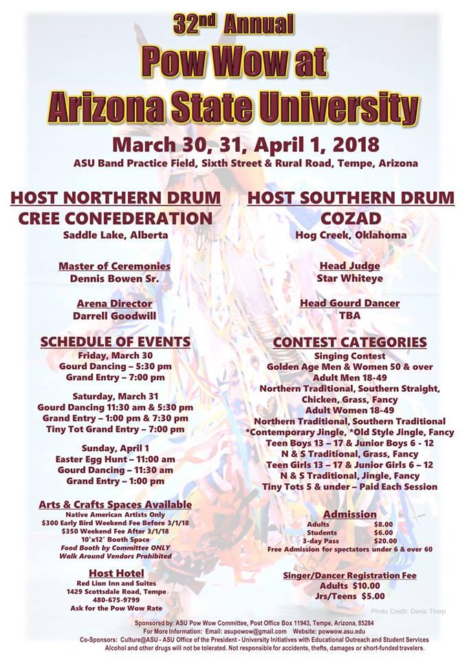 32nd Annual Powwow at Arizona State University