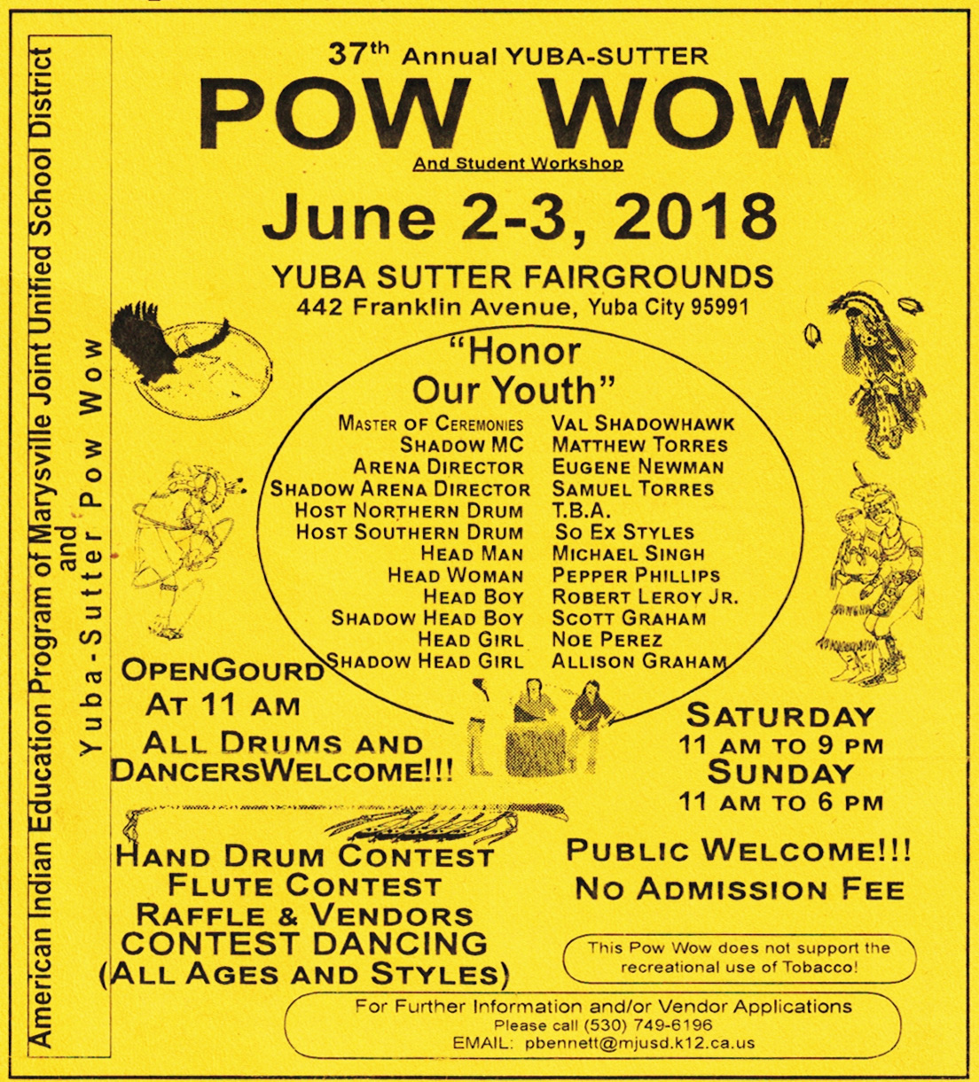 37th Annual Yuba Honor our Youth Sutter Powwow