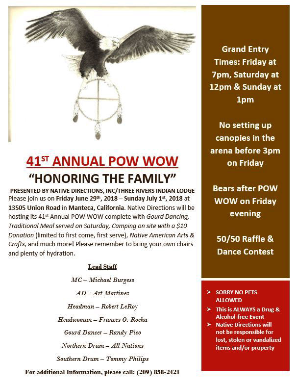 41st Annual Powwow Honoring the Family